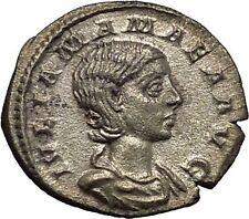 Julia Mamaea Silver Ancient Roman Coin Rare Juno wife & sister of Jupiter i52312