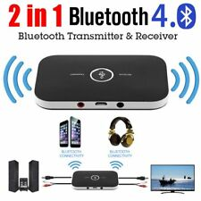 2in 1 Wireless Bluetooth Transmitter & Receiver A2DP for TV Stereo Audio Adapter