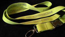Porsche Schlüsselband Keyholder Lanyard original grün top edel