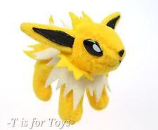 """JOLTEON Pokemon Friends Plush 4"""" Bandai Soft Figure"""