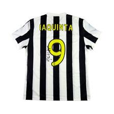 2009 Juventus Maglia Home Match Worn/Issue #9 Iaquinta Peace Cup Autografata XL