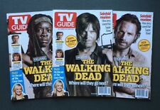 The WALKING DEAD (TV GUIDE MAG. Feb.2014) 3 EXCLUSIVE COLLECTOR COVERS (NEW)