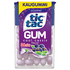 TicTac Tic Tac Chewing Gum: COOL CASIS PACK 36 pieces -Made in Germany