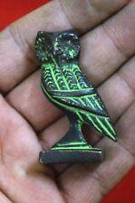 Brass owl Shaped Paper weight Incense Burner Table Decor OWL Incense Stick BM510