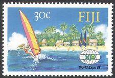 Fiji 1988 EXPO '88/Tourism/Windsurfing/Sports/Sailing/Palm Trees 1v (n41745)