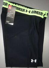Under Armour Heatgear Softball Sliding Shorts NWT Women's S Black FREE SHIPPING