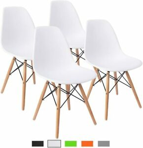 Furmax Pre Assembled Modern Style Dining Chair Mid Century Modern DSW Chair,
