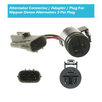 Alternator Connector Adapter Plug Fit Nippon Denso Alternators 3 Pin Plug