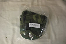 US Military Issue Woodland Camo Molle II 100 Round Ammo SAW Medic Pouch Lot of 2