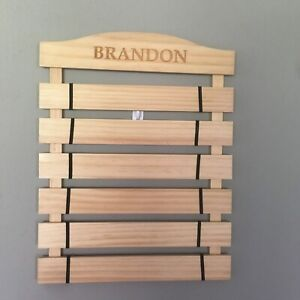 Lillian Vernon Personalized karate Belt Holder 6 Level New In Box Brandon