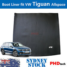 Prime Quality All Weather Rubber Boot Liner VW Tiguan Allspace R-Line R TrunkMat