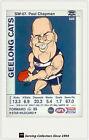 2009 AFL Teamcoach Trading Card Star Wild Card SW7 Paul Chapman (Geelong)