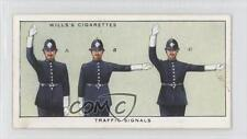 1934 Wills' Safety First Tobacco Base #14 Traffic Signals Non-Sports Card 1x2