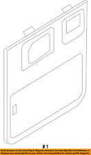 FORD OEM 2008 E-350 Super Duty Back Door-Rear Door Trim Right 7C2Z1645220AA