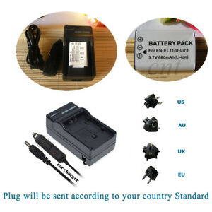 Replacement Battery for Pentax D-LI78 DLI78 PENTAX Optio M60 Optio S1 Or Charger