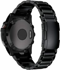 BaiHui Titanium Band Compatible with Fenix 5X/6X Bands,26mm black