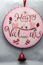 Colorful Happy Valentine Day Metal Cap Hanging Ornament New
