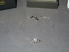 New Welsh Clogau Silver & Rose Gold Feather Bracelet RRP £99