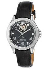 Bulova Accutron Kirkwood 63P101 Open Heart Womens Swiss Made Automatic Watch NEW
