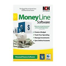 MoneyLine Personal Finance Software Easy Home Accounting and Checkbook Software