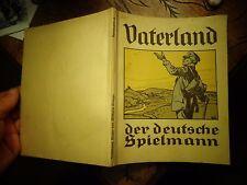 VATERLAND Der Deutsche Spielmann 1924