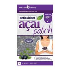 Acai Berry Perdita di peso dieta tè verde 30 patch toppe Evolution Slimming