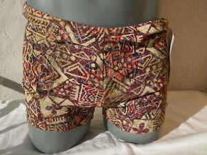 TanThru Badehose Panty Short Durchbräunend Braun Gr. 5 M - 7 L 8 XL Solar Neu