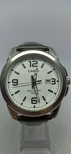 Casio MTP-1314L-7A Analog Mens Watch Leather Band MTP-1314 50M