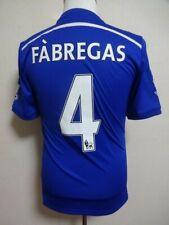Chelsea #4 Fabregas 100% Original Jersey Shirt 2014-2015 Home S Good Condition