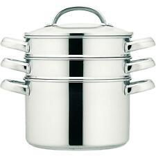 Prestige Create Range Stainless Steel Multi Steamer, Dishwasher Safe, 18cm/2.8L