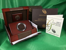 2017 W Proof American Buffalo Gold 1oz Case Box Sleeve Capsule COA-No Coin
