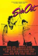 SIDE OUT Movie POSTER 27x40 C. Thomas Howell Peter Horton Kathy Ireland Sinjin