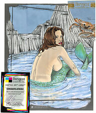 Breygent World of Fantasy Sketch Z-Card by Paul Cowan
