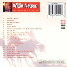 Willie Nelson - Country Classics (Audio CD) Import NEW