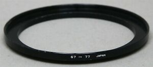 67-77mm 67mm Lens to 77mm Filter Thread STEP-UP ADAPTER RING