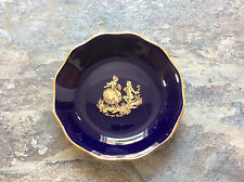 Limoges Castel Pin / Ring Dish  France 22k Gold FREEPOST UK