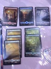 Magic - MTG FULL ART lot de 8 terrains édition Amonkhet