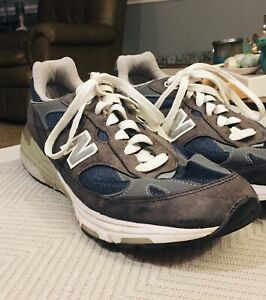 New Balance 993 Made In USA- Men's Size 12 D (MR993NV) Running Shoes