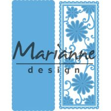 Marianne Design Creatables - Anja's Flower Rectangle Cutting Dies LR0516