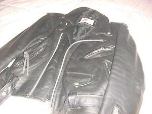 Biker,jacket,original A.M.I. london,leather,vintage,chiodo,punk, unisex,UK 40