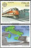 Italien 2043-2044 (kompl.Ausg.) postfrisch 1988 Kommunikationsmittel