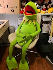 "Kermit The Frog 4 Ft / 48"" Muppets Jim Henson Giant Plush Nanco Vintage"
