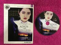 Adios A il Mio Concubina DVD Kaige Chen Leslie Cheung Fengyi Zhang Dg