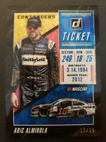 2019 Donruss Racing NASCAR Contenders Cracked Ice #6 Aric Almirola 12/25