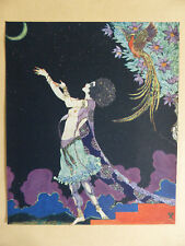 Ronald Balfour Print from Rubaiyat of Omar Khayyam 1920 Coloured Original (2)