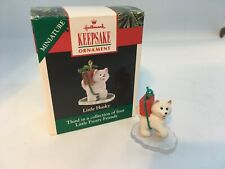 Hallmark Keepsake Miniature - Little Husky - 1990 - 3rd in Little Frosty Friends
