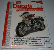 Reparaturanleitung Ducati Monster Desmo S4 Fogarty S4R Testastretta S4RS NEU!