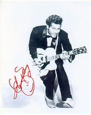 REPRINT - CHUCK BERRY #2 autographed signed photo copy