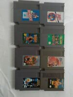 Nintendo Nes Game Lot 8 Games