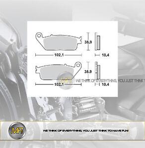 PER YAMAHA X MAX YP R 250 DAL 2010 AL 2016 COPPIA PASTIGLIE FRENO ANTERIORI BRAK